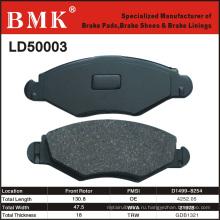 Тормозные колодки высокого качества (LD50003) для французских автомобилей
