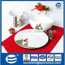 Фарфоровая посуда керамическая посуда оптом для детского завтрака