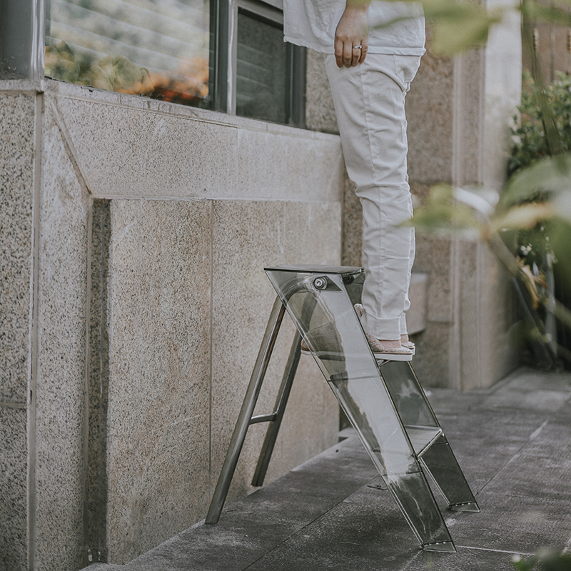 Folding Plastic Ladder