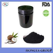 Carbón de leña de carbón activado puro 100% de la categoría alimenticia