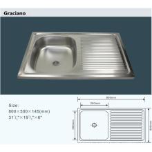 Оптовые портативные камеры для ванной комнаты из нержавеющей стали для кухни с мытьем