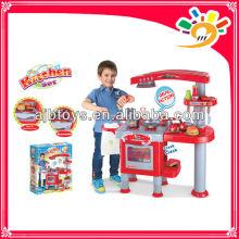 Interesting Preschool Educational Cooking Pretend Play Kitchen Set Toys For Children