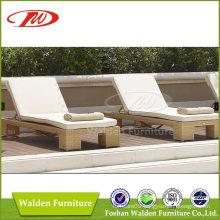 Outdoor Furniture Rattan Sun Lounger (DH-9548)