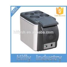 HF-600B DC 12 V AC 220 V portátil mini carro venda quente e casa duplo uso legal e quente duplo uso carro geladeira (certificado CE)