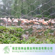 304 Edelstahl hochwertiges Zoo Aviary Mesh