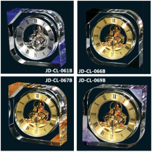 Luxury Wholesale Customized Crystal Desk and Table Clock