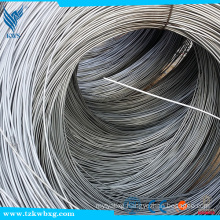 SUS 201 8.0mm smooth sliver Stainless Steel Wire Rods coil