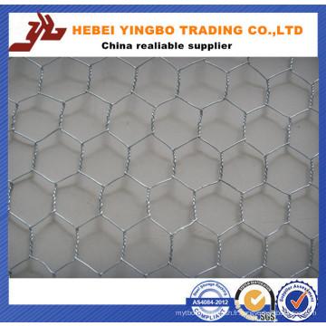 Fabrication de fil hexagonale / fil de poulet / treillis métallique hexagonal