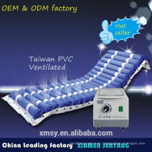 Medical inflatable air mattress bed with pump