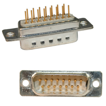 D-SUB MALE Straight PCB Machine Pin