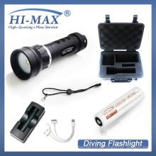Fabrikpreis 1pcs 18650 Li-Ionbatterie Unterwasseratemgerät Tauchen Unterwasser video Licht