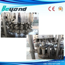 Ligne d'équipement de remplissage automatique de bière en aluminium
