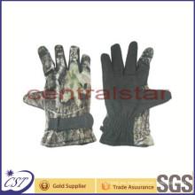 Guantes de neopreno con camuflaje y 3 dedos con manguito (GL03)