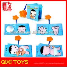 Éducatif infantile bébé livre d'images livre de tissu de bébé pour les bébés
