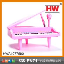 Juguete plástico de la venta del juguete de la venta caliente que juega el piano del teclado
