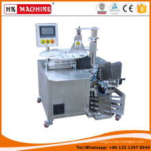 Latest design economic high quality cosmetic face mask production line with auto bag collect function