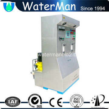 Large medical waste chlorine dioxide generator