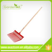 Free Sample Garden Grass Bedding Rake Leaf Rake From China