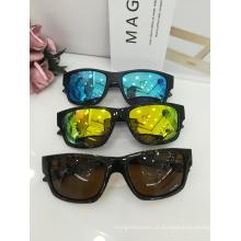 Óculos de sol quadrados do frame TR dos óculos de sol para homens