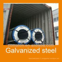 SGCC, DX51D galvanisé acier, galvanisé feuille, bon prix