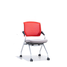Plastic Mesh Office School Training Chair with Armrest