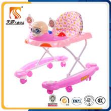 2016 China New Plastic Material Walker para crianças