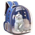 Mochila para animais de estimação da cápsula espacial da bolha