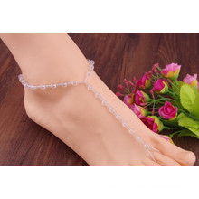 Crystal Bridal Barefoot Sandal Foot Jewelry Foot Anklet