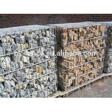 2*1*1 M hot-dipped galvanized welded stone gabion basket with clip