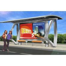 Kiosque de Bus moderne avec un Design Simple