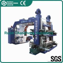 4 Color Non Woven Fabric Flexo Printing Machine (CE)