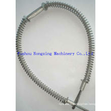 Steel / stainless steel Whip check safety cable with high quality