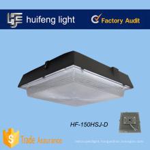 Aluminum housing+ PC cover led canopy light/led bay light