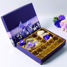 Cajas de diseño más nuevo para chocolates personalizados