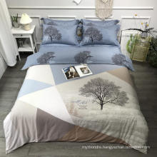 Wholesale Best Quality Bedding Cotton Fabric Comfortable for Single Bed Sheet Set