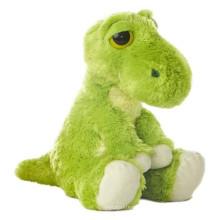 Customized OEM ! 30cm stuffed soft toy, plush dinosaur toys green