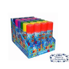 Chaîne de partie colorée en gros folle chaîne Spray pour la décoration de Noël et la célébration du nouvel an
