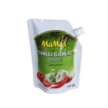 Pochettes en aluminium pour ketchup