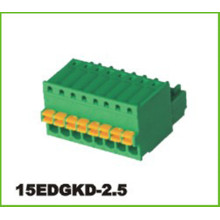 2.5mm Blok Terminal Pitch Pluggable