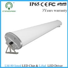 Fabricante de luz linear de tubo de LED tri-prova na China