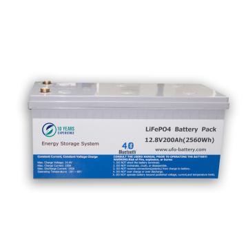 Ciclo profundo de la batería de litio de 12V 100Ah