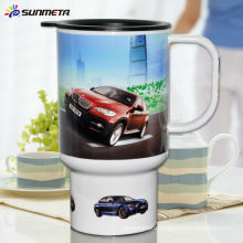 Sunmeta New designed Sublimation Mug Travel Mugs Car Cups SLH-05