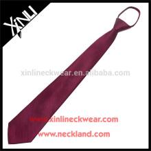 100% artesanal perfeito nó homens atacado gravata de seda com zíper