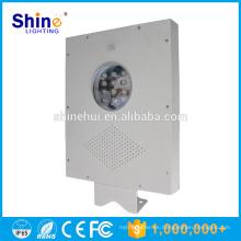 Largo tiempo de descarga 12W Solar LED luz Street Lamp