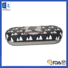 Two-Pieces Custom Metal Glasses Case