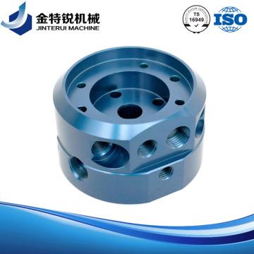 Bouton tournant en aluminium Cnc tournant