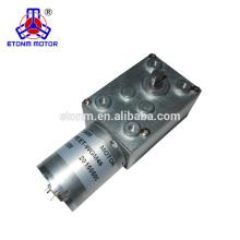 DC worm geared motor 46*32mm 12V