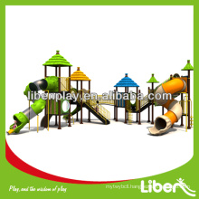 2014 NEW Straw House Series outdoor playground LE.DC.035, plastic playground slide for sale