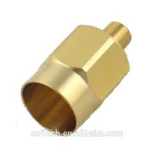 Brass machining parts OEM service CNC brass machining part