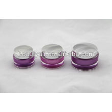 15g 30g 50g Oval Acrylic Cosmetic Jar Packing